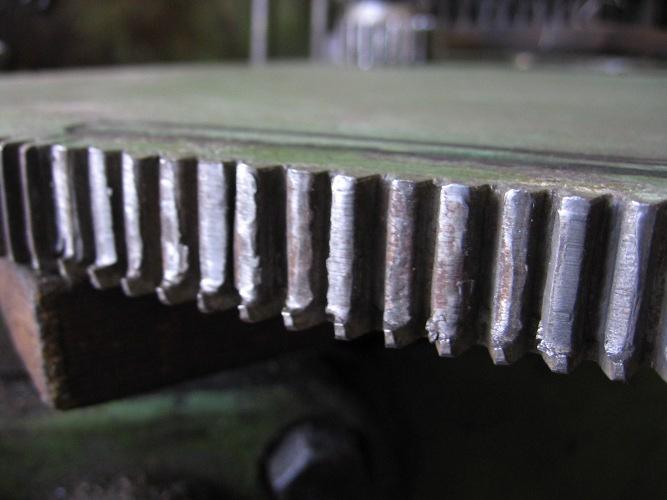 Réparation de têtes de forage réparation de cannelures sur moteur